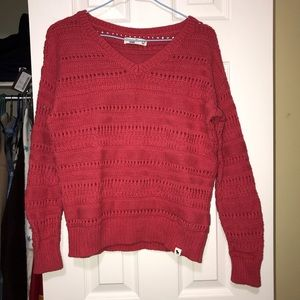 Abercrombie knit sweater - hot pink